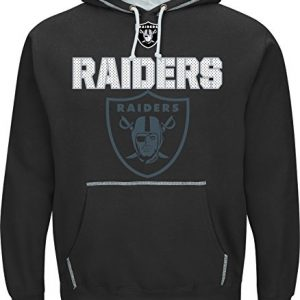 NFL-Hooded-SweaterHoodyHoodie-OAKLAND-RAIDERS-SEAM-PASS-in-MEDIUM-M-0