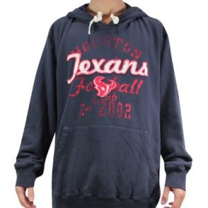 NFL-Houston-Texans-Herren-Athletisch-Kapuzenpulli-Vintage-Look-XL-Dark-Blue-0
