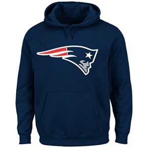 NFL-KaputzenpulloverHoodyHoodie-Hooded-Sweater-NEW-ENGLAND-PATRIOTS-Flying-Elvis-in-S-SMALL-0