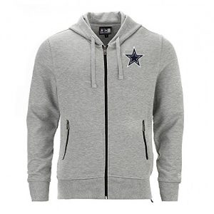 New-Era-NFL-DALLAS-COWBOYS-Team-Full-Zip-Pullover-GreS-0