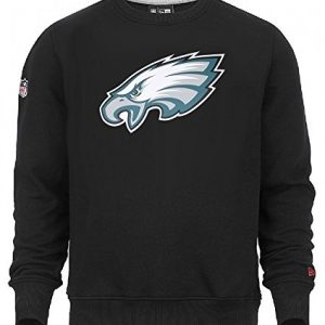 New-Era-NFL-PHILADELPHIA-EAGLES-Team-Logo-Crew-Sweatshirt-GreXL-0