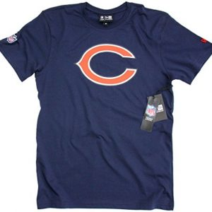 New-Era-NFL-Team-Logo-Chicago-Bears-T-Shirt-navy-L-0