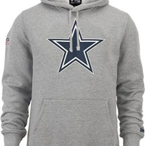 New-Era-NFL-Team-Logo-Dallas-Cowboys-Hoodie-heather-grey-M-0
