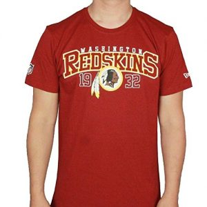 New-Era-NFL-WASHINGTON-REDSKINS-Team-Arch-T-Shirt-GreL-0