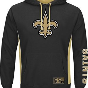 New-Orleans-Saints-Majestic-NFL-Passing-Game-IV-Pullover-Hooded-Sweatshirt-0