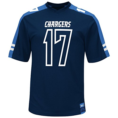 "San Diego Chargers Football Jersey: Philip Rivers San Diego Chargers Majestic NFL ""Hashmark"