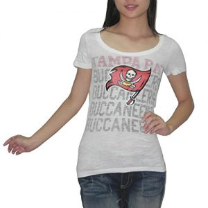 Pink-Victorias-Secret-femmes-NFL-Tampa-Bay-Buccaneers-T-Shirt-Tee-Blanc-taille-S-0
