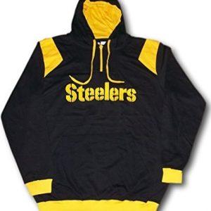 Pittsburgh-Steelers-NFL-Licensed-Mens-Hoodie-Sweatshirt-Size-Large-Tall-by-NFL-Team-Apparel-0