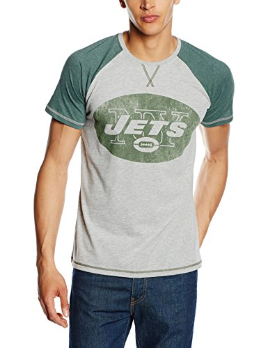 Plastic-Head-Herren-T-Shirt-Nfl-New-York-Jets-Grau-Grau-M-0