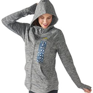 San-Diego-Chargers-Womens-NFL-G-III-Recovery-Full-Zip-Hooded-Sweatshirt-0