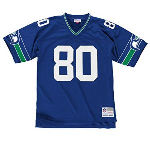 Steve-Largent-Seattle-Seahawks-NFL-Mitchell-Ness-Throwback-Premier-Blue-Trikot-Jersey-0