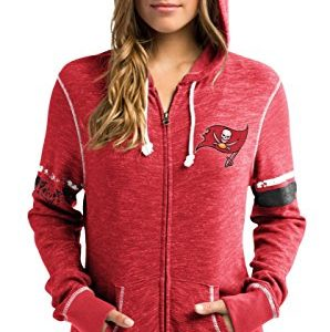 Tampa-Bay-Buccaneers-Womens-Majestic-NFL-Athletic-Full-Zip-Hooded-Sweatshirt-0