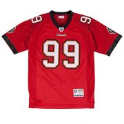 Warren-Sapp-Tampa-Bay-Buccaneers-Mitchell-Ness-Throwback-Premier-Jersey-Trikot-Red-0