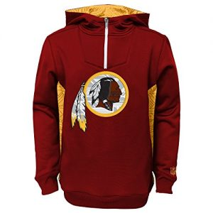 Washington-Redskins-Youth-Kinder-NFL-Power-Logo-Performance-Hooded-Sweatshirt-0