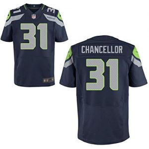 Seattle-Seahawks-Trikot-Trikot-31-Kam-Chancellor-Jerseys-Mens-American-Football-Shirt-Blue-Size-XXXL56-0